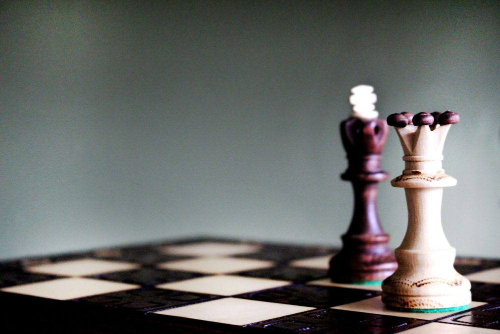 An image of chess pieces